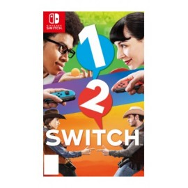 1-2 Switch Nintendo 45496590444, Blanco / Rojo