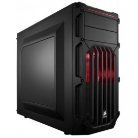 Gabinete CORSAIR Spec-03 Red Led, Midi-Tower, ATX, Micro-ATX, Mini-ITX, Rojo