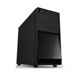 Gabinete Eagle Warrior CM3F22HB00KMX, Mini-Tower, PC, Negro, 450 W