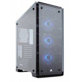 Gabinete Gaming CORSAIR Crystal Series 570X Torre, Midi-Tower, PC, ATX, Micro-ATX, Mini-ITX, Negro