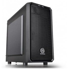 Gabinete Gaming THERMALTAKE Versa H15, PC, Mini ATX, Micro ATX, Negro