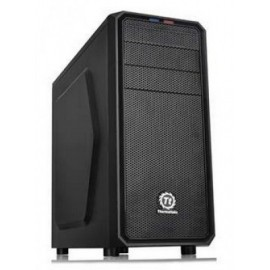 Gabinete Gaming THERMALTAKE VERSA H25, Midi-Tower, PC, ATX, Micro-ATX, Negro