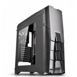 Gabinete Gaming THERMALTAKE VERSA N25, Midi-Tower, PC, ATX, Micro-ATX, Mini-ITX, Negro