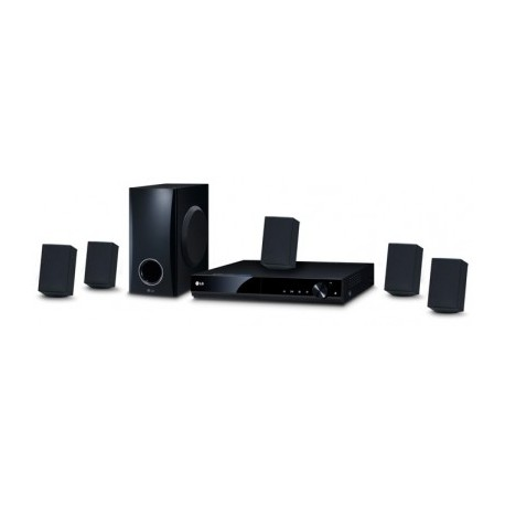 Home Theater LG, Reproductor de DVD, 5.1, 330 W, Negro