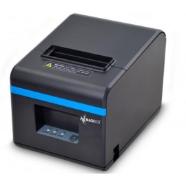 Impresora Térmica BLACK ECCO BE102, Térmica directa, 200 mm/s, USB/Serial