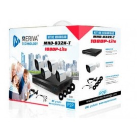 Kit 4X4 Meriva Security MHD-832K-T , Negro, Color blanco