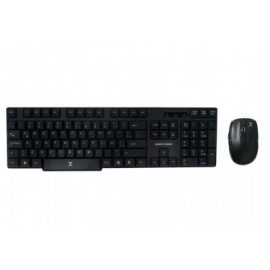 Kit de teclado y mouse PERFECT CHOICE , Estándar, Negro, 10 m, 1600 DPI