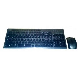 Kit de teclado y mouse PERFECT CHOICE, Gris