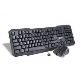 Kit para Teclado y Mouse ONE EKM850, Negro
