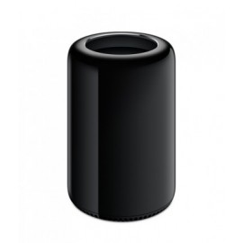 Mac Pro APPLE Mac Pro 6 core y GPU doble, Intel Xeon, 16 GB, 256 GB, Mac OS X 10.9 Mavericks, Negro