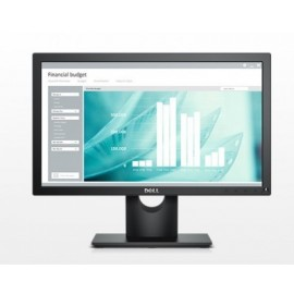 Monitor DELL, 18.5 pulgadas, 250 cd / m², 1366 x 768 Pixeles, 5 ms, Negro