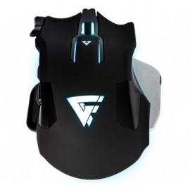 Mouse Gaming GAME FACTOR MOG600, USB, Juego, Laser, 800-2800 DPI, Negro