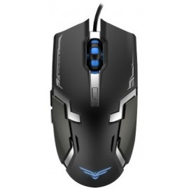 Mouse Gaming Naceb Technology NA-629, USB, Juego, Negro