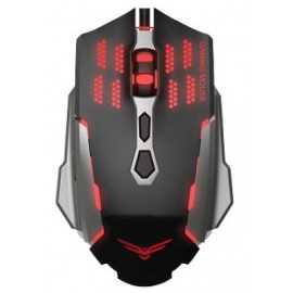 Mouse Gaming Naceb Technology NA-630, USB, Juego, Negro