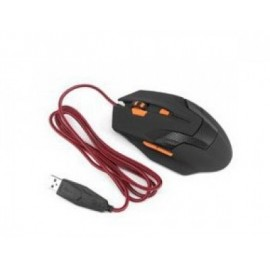 Mouse Gaming TECHZONE TZ16MOU01-GAME, USB, Juego, 800-2400 DPI, Negro
