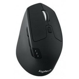 Mouse Inalambrico LOGITECH M720 TRIATHLON, Negro, Bluetooth, EASY-SWITCH