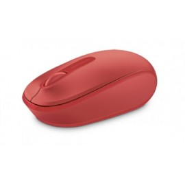 Mouse MICROSOFT Wireless Mobile Mouse 1850 Inalambrico, Rojo, 2 botones, RF Wireless+USB, Óptico, 1000 DPI