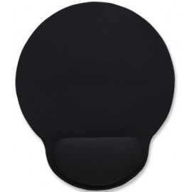 Mouse Pad MANHATTAN 434362, Negro, Monótono, 20,3 cm, 4 mm