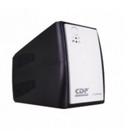 No-Break CDP R-UPR 1008, 1000 VA, 500 W, Color blanco, Hogar y Oficina