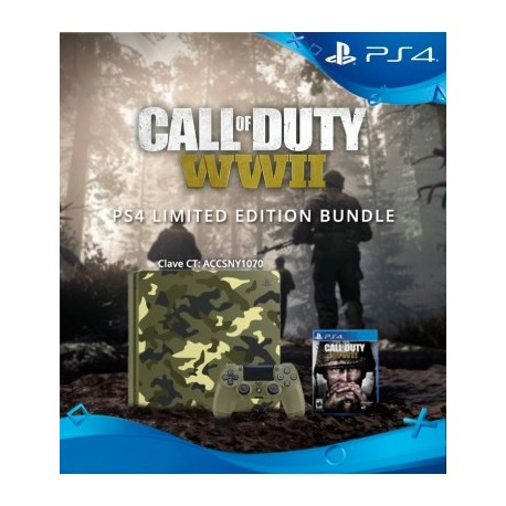 PlayStation 4 1TB Limited Edition Call of Duty: WWII Bundle.3002200