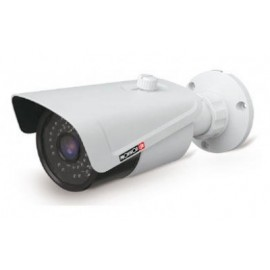 Provision-ISR I3-480IPE28, IP, Interior y exterior, Bullet, Alámbrico, Color blanco, Techo/pared