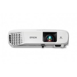 Proyector EPSON PowerLite S39, 3300 lúmenes ANSI, 3LCD, SVGA (800x600), 10000 h, Color blanco