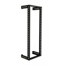 Rack de pared NORTH SYSTEM, Negro, Acero al carbón, Montado en la pared, 200 kg, 10U