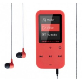 Reproductor MP4 ENERGY SISTEM EY-426454, Coral, MicroSD (TransFlash), MP3, 3,5 mm