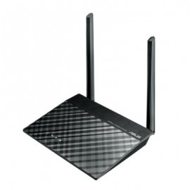 Router ASUS , Externo, 2, Negro