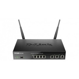 Router D-LINK DSR-500AC, Externo, 3, Negro