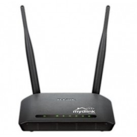 Router D-LINK, Externo, 2, Negro, 2,4 GHz