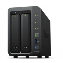 Servidor NAS SYNOLOGY DS718+, 2,3 GHz, 2 GB