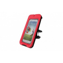 Soporte de celular para bicicleta PERFECT CHOICE BIKE MOUNT CASE, Rojo, Smartphone