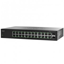 Switch CISCO SG112-24, Negro, 24