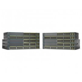 Switch CISCO WS-C2960+24LC-L, Negro, 24