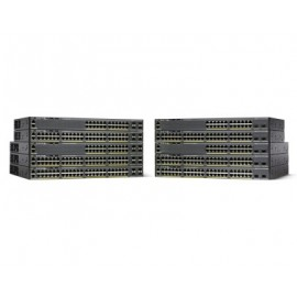 Switch CISCO WS-C2960X-24PSQ-L, Negro, 24