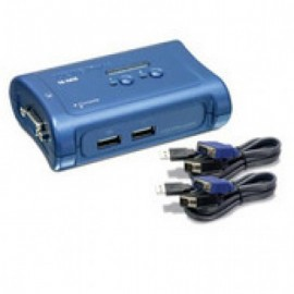 Switch TRENDnet, VGA, 1,2 m, Azul, 2