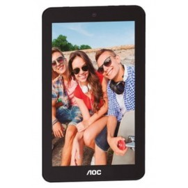 Tableta AOC A726, 1 GB, Quad-Core, 7 pulgadas, Android 6.0