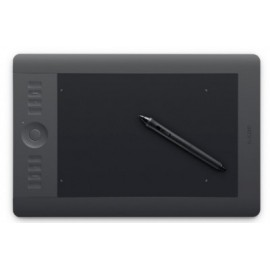 Tableta Gráfica WACOM INTUOS PRO PEN AND TOUCH SMALL WIRELESS, Inalámbrico, Si, Negro