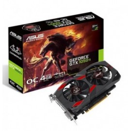 Tarjeta de Video Gaming ASUS CERBERUS-GTX1050TI-O4G, NVIDIA, GeForce GTX, GDDR5