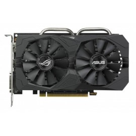 Tarjeta de Video Gaming ASUS ROG-STRIX-RX560-O4G-EVO-GAMING, AMD, Radeon RX 560, 5120 x 2880 Pixeles, DDR5