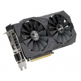 Tarjeta de Video Gaming ASUS ROG-STRIX-RX570-O4G-GAMING, AMD, Radeon RX 570, 5120 x 2880 Pixeles, 1300 MHz, GDDR5