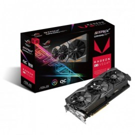 Tarjeta de Video Gaming ASUS ROG-STRIX-RXVEGA56-O8G-GAMING, AMD, Radeon RX Vega, 7680 x 4320 Pixeles