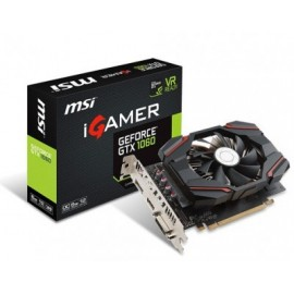Tarjeta de Video Gaming MSI GTX 1060 IGAMER 6G OC, NVIDIA, GeForce GTX 1060, 7680 x 4320 Pixeles, GDDR5X