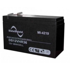 Batería para No Break DATASHIELD MI-4219, Negro, 12 V, 9 AH