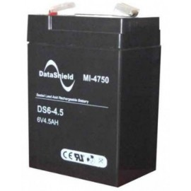 Batería para No Break DATASHIELD MI-4750, Negro, 6 V, 4.5 AH