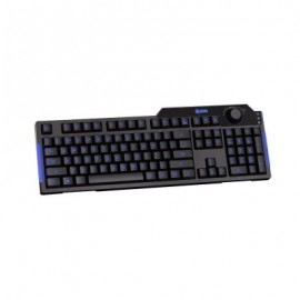 Teclado Gaming Azio KB501, Inglés, PC/server, Negro