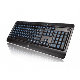Teclado Gaming Azio KB505U, USB, Inglés, PC/server, Negro