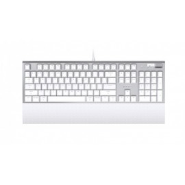 Teclado Gaming Azio MK-MAC-U01, USB, QWERTY, Inglés, Juegos, Color blanco