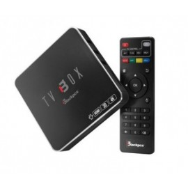 TV BOX Blackpcs EO104K-BL, Negro